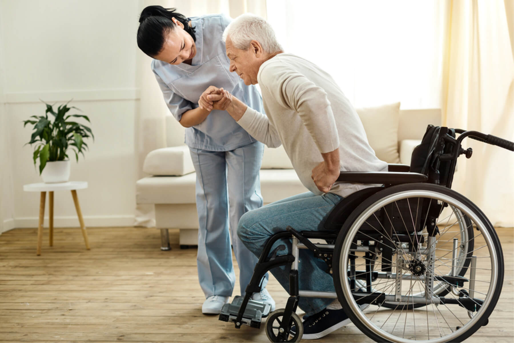 Caregiver in Daphne AL: Immobilization